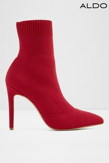 Aldo Pointed Toe Knit Boots