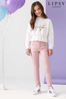 Lipsy Girl Coated Skinny Jean
