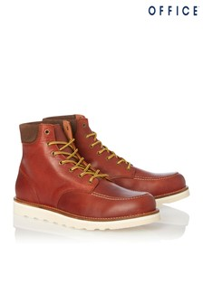 Office Leather Boots