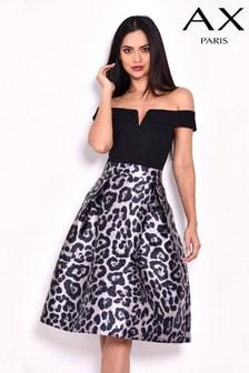 AX Paris 2 In 1 Printed Midi Dress