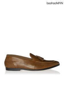 Boohoo Man Faux Leather Smart Loafer