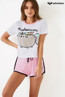 Missimo Pusheenicorn Shorts PJ Set