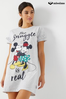 Missimo Disneys Mickey And Minnie Sleep Tee