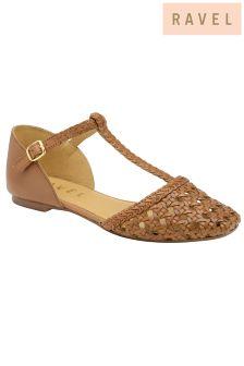 Ravel T Bar Ballerina Sandals
