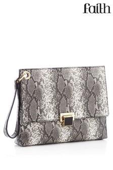 Faith Wristlet Clutch Bag