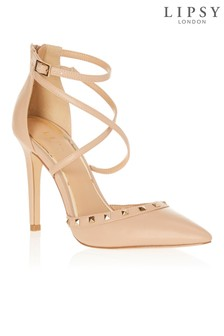 Lipsy Studded Cross Strap Open Courts