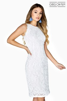 Girls On Film Lace Bodycon Dress