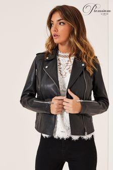 Lipsy Leather Biker Jacket