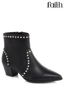 Faith Studded Ankle Boot