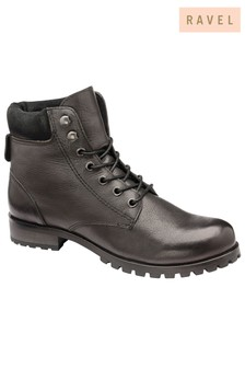 Ravel Leather Hiker Boots
