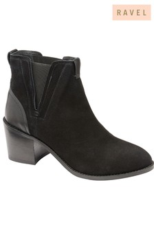 Ravel Chelsea Leather Ankle Boots