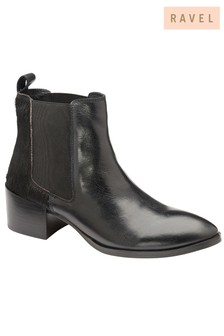 Ravel Chelsea Leather Boots