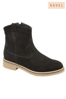 Ravel Leather Ankle Boot
