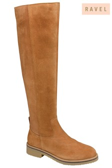 Ravel Knee Length Leather Boots