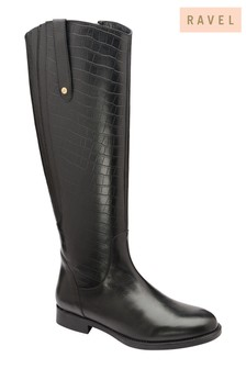 Ravel Leather Knee Boots