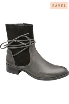 Ravel Ankle Leather Boots