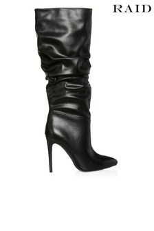 Raid Knee High Boot With Stiletto Heel