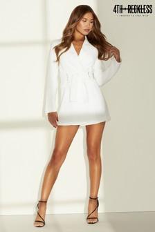 4th & Reckless Ring Detail Blazer Dress