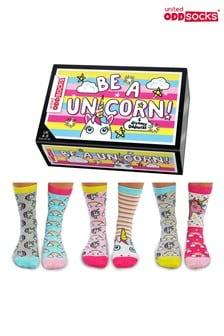 United Oddsocks Be a Unicorn Socks set