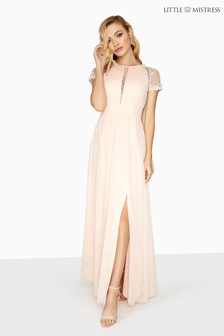 Little Mistress Beaded Maxi Dress