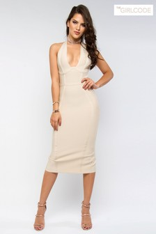 The Girlcode Bodycon Midi Dress