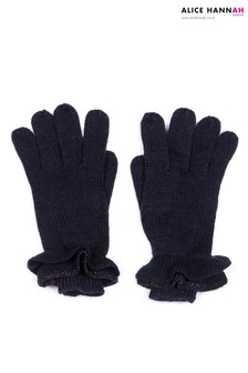 Alice Hannah Ruffle Knit Glove