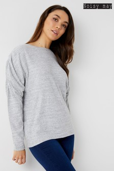Noisy May Bat Wing Sleeve Jumper