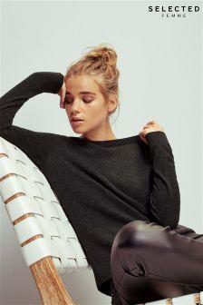 Selected Femme 100% Cashmere Jumper