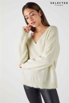 Selected Femme Long Sleeve Knit Jumper