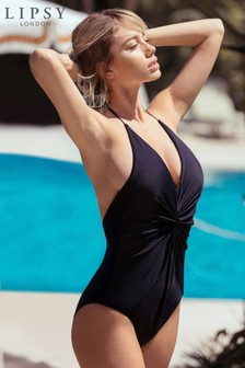 Lipsy Shape Enhancing Swimsuit