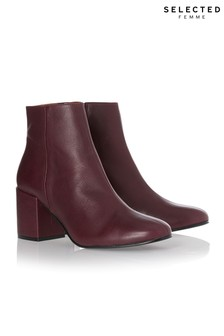 Selected Femme Leather Boots