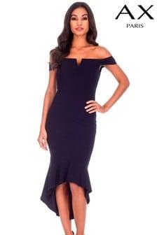 AX Paris Bardot High-Low Bodycon Dress
