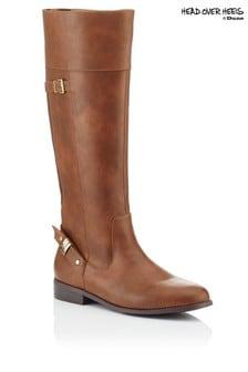 Head Over Heels High Leg Riding Boots
