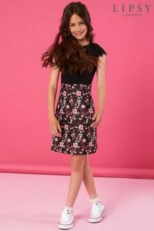 Lipsy Girl 2-in-1 Floral Print Skirt Dress