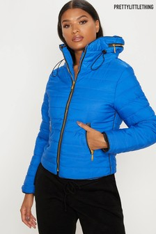 PrettyLittleThing Padded Hood Jacket