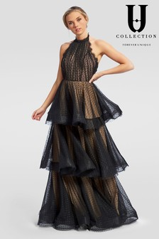 Forever Unique Tiered Maxi Dress