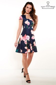 Want That Trend Floral Dress