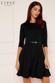 Lipsy Belted Skater Dress