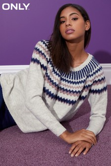 Only Long Sleeve Knit Pullover