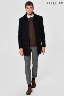 Selected Homme Wool Pea Coat