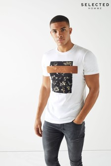 Selected Homme Graphic Print T-Shirt