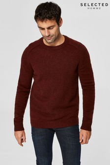 Selected Homme Wool Crew Neck Jumper