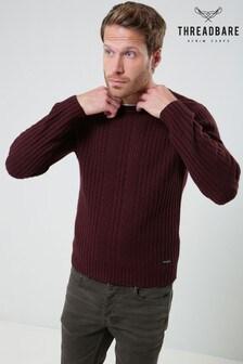Threadbare Textured Knit Jumper