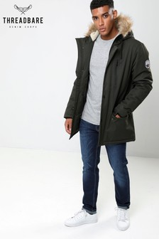Threadbare Fur Hooded Parka