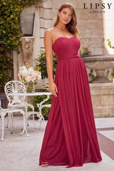 Lipsy Bella Bandeau Multiway Maxi Dress