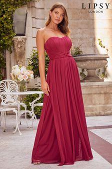 Lipsy Bella Multiway Bandeau Bridesmaid Dress