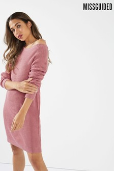 Missguided Knitted Jumper Dress