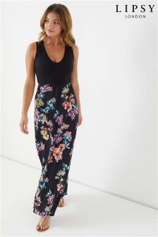Lipsy Printed Maxi Dress