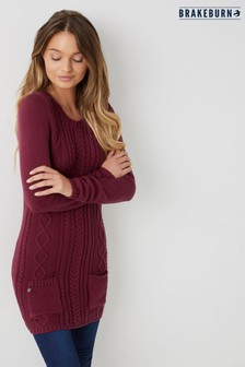 Brakeburn Cable Knit Tunic