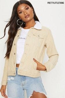 PrettyLittleThing Collar Jacket